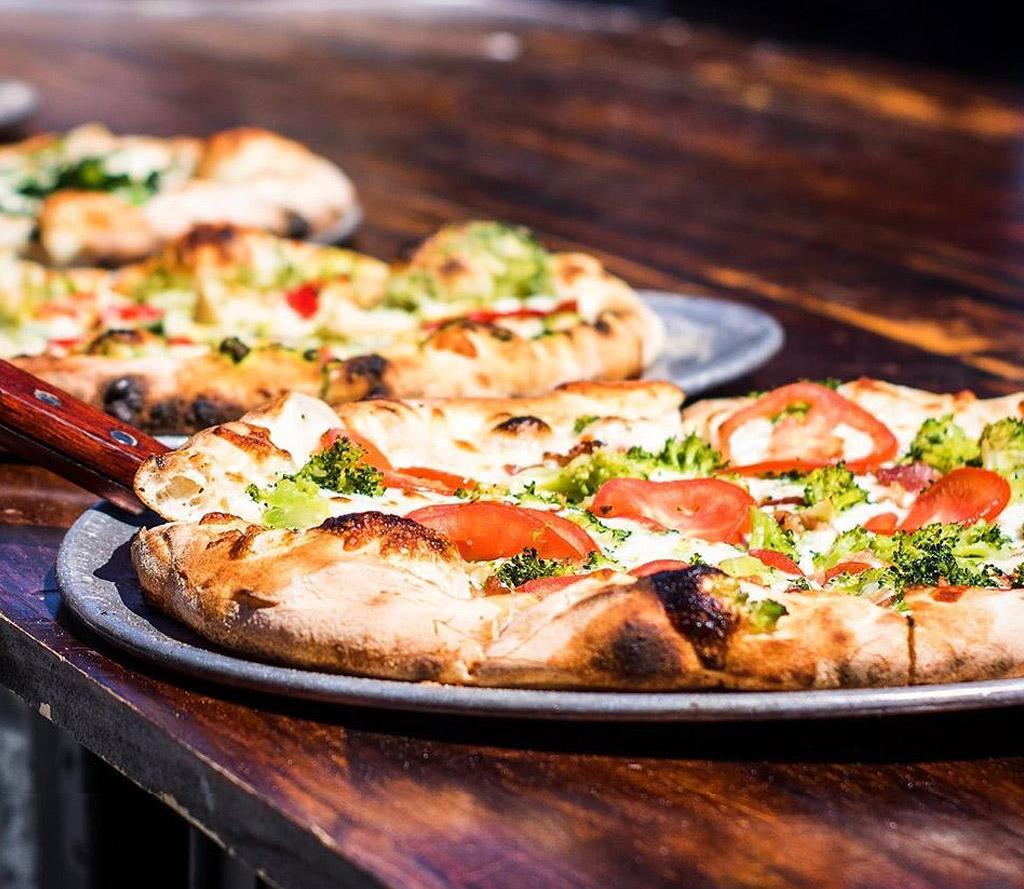 Pizza Bar Menu - Wood Fired Pizza